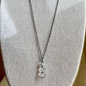 "Jewelry - SOLD Triple Herkimer ""Diamond"" Quartz Necklace"